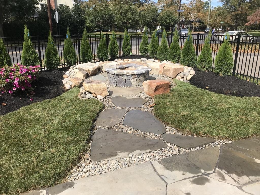 Landscape Installation In Burlington County Nj Lisk Landscaping